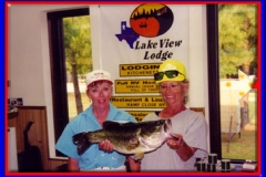 sherry_and_lady_client_holding_bass