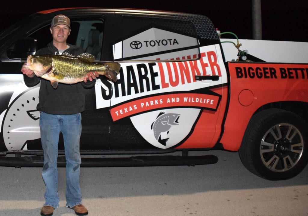 Zach Sypert 14.57 Record Texas Largemouth Bass
