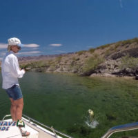 A Texas Fishing Guide Smallmouth Bass Fishing Lake Mohave Arizona